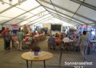 Festzelt – SonnenSeeFest 2012