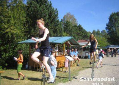 Einrad – SonnenSeeFest 2012