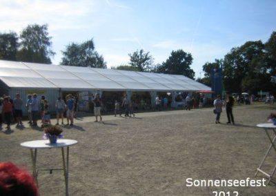 Festzelt vom SonnenSeeFest 2012